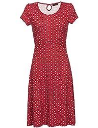 Vive Maria French Fleur Dress Kleid rot Allover-Print