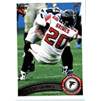 2011 Topps Football Card # 305 Brent Grimes - Atlanta Falcons - NFL Trading Card