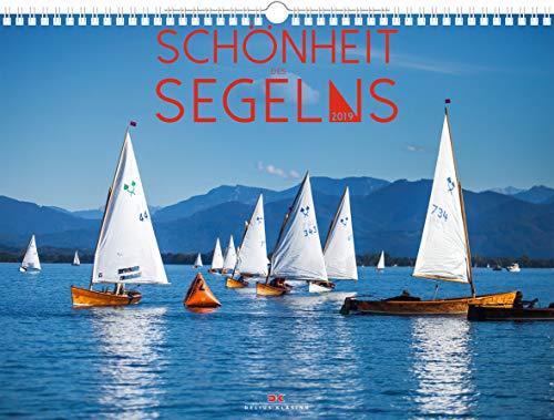 Schönheit des Segelns - Kalender 2019 - Delius-Klasing-Verlag - Yachtkalender - Wandkalender für Segelsportler - 45 cm x 33 cm