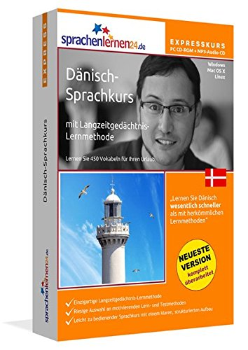Sprachenlernen24.de Dänisch-Express-Sprachkurs PC CD-ROM für Windows/Linux/Mac OS X +...