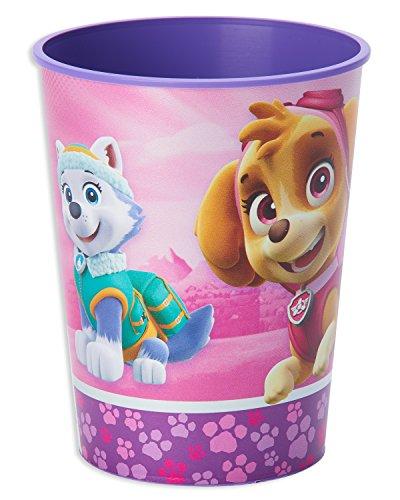 Kunststoff-Becher * PAW PATROL PINK * für Kindergeburtstag und Motto-Party // Kinder Geburtstag ()