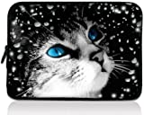 "Colorfulbags Cat Design Girls Boys New 11.6"" 12"" 12.1"" inch scratch-proof Laptop Notebook Soft Sleeve Case Bag Pouch Cover For HP Envy x2 11.6"",HP Pavilion dm1 Samsung ATIV XE500T1C XE700T1C / Acer Aspire One,Apple Macbook Air ASUS VivoBook X202E Dell TOSHIBA IBM Lenovo ThinkPad X220 X220i Hot(UK PS12-192)"