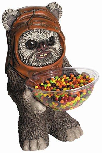Rubie's Star Wars Bonbonhalter Ewok Figur mit Schale Karneval Fasching ()