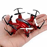 Mini RC Quadcopter, Dinglong JJRC H20 Mini Remote Control Helicopter 2.4G 4Ch 6-Axis Gyro Nano Hexacopter USB Charging Drone Aircraft Toys, CF RTF, LED Lighting, 360 Degree Flip, Headless, Smart Flying Toy Plane