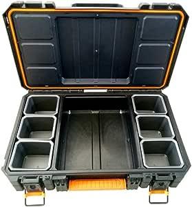 Keter 6206 Quadkoffer Koffer Für Quad Quad Staubox Gepäcktasche Atv Box Transportbox Topcase Auto