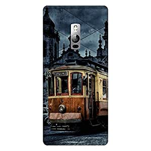 Mobo Monkey Designer Printed Back Case Cover for OnePlus 2 :: OnePlus Two :: One Plus 2 (Bus :: Landmark :: Architecture :: Famous :: Cities)