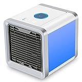 Dealux Mini-mobile Klimaanlage mit USB-Port und 3-in-1 Funktion, Klimagerät, Luftbefeuchter und Luftreiniger, Tischventilator für Büro, Hotel, Garage, Haus
