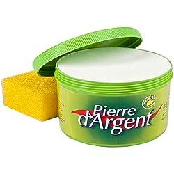 La Pierre d'Argent ® 500 GR Un produit naturel à base d'argile : on n'a jamais fait mieux pour tout nettoyer et protéger en même temps !