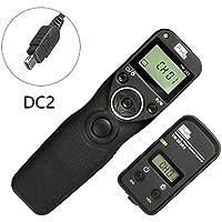 Kilos PIXEL FSK 2.4GHz TW-283 DC2 LCD inalámbrico disparador disparador de control remoto para Nikon D90, D7000, D7100, D7200, D600, D750