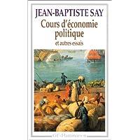 Cours d'économie politique et autres essais
