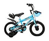 Outdoor Bikes Jaunty BMX Bicycle (Bottle Blue, 14-inches, 3 to 5years)