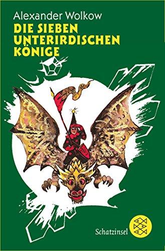 Buchseite und Rezensionen zu 'Die sieben unterirdischen Könige (Die Wolkow-Zauberland-Reihe)' von Alexander Wolkow