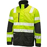 Helly Hansen Workwear Warnschutz Arbeitsjacke York Jacket CL 3 (2) Signalfarbe 369  2XL, gelb, 76275