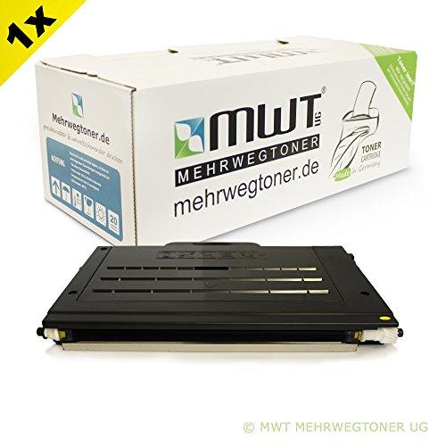 MWT Toner YELLOW XXL für Xerox Phaser 6100 DN 6100DN - XL Befüllung - 100% kompatibel - 106R00682 / 106R00678 Alternative Gelb - 106r00678 Toner