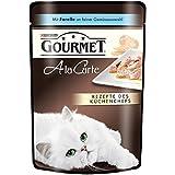Gourmet a la Carte Katzenfutter Forelle an feiner Gemüseauswahl, 24er Pack (24 x 85 g) Beutel