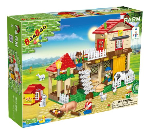 Use-It-with-Other-Major-Brands-390-Piece-Animal-Farm-2-ToBee-Mini-Figures-Low-Cost-Great-value-Build-Create-Play-Fun-Construction-Present-Suitable-Age-5-Great-Gift-Idea