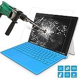 "Microsoft Surface Pro 4 Folie - MoKo Klar HD 9H Panzerglas Hartglas Displayschutzfolie Glas Display Schutzfolie Displayschutz Glasfolie Glass Screen Protector für Surface Pro 4 12.3"" 2015 Tablet, Klar"