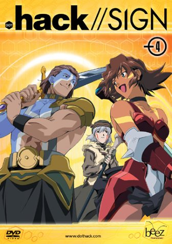 .hack//SIGN, Vol. 4 Hack-tv-serie Dvd