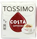 TASSIMO Costa Cappuccino 16 T DISCs, (Large Cup Size) 8 Servings