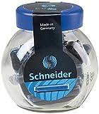 Schneider Schreibgeräte Standard-Tintenpatronen, passend in SCHNEIDER und viele andere, königsblau, 30er
