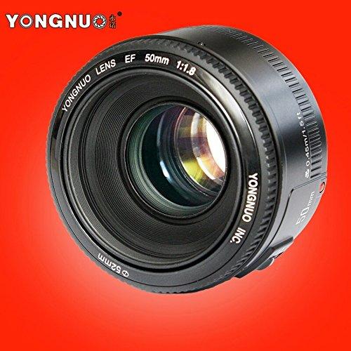 Yongnuo YN50MM obiettivo Canon-f/1,8, 46º, ø 52 mm, colore: nero