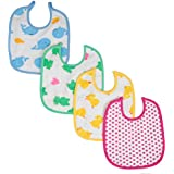 Guru Kripa Baby Product™ Presents New Born Baby Waterproof Bib / Apron Nursing And Feeding Beautiful Printed Baby Bib Aprin Desing And Colour Waterproof Easy Clean Up Premium Comfortable Soft Baby Bibs Keep Stain Off After Meals For Babies Or Toddle
