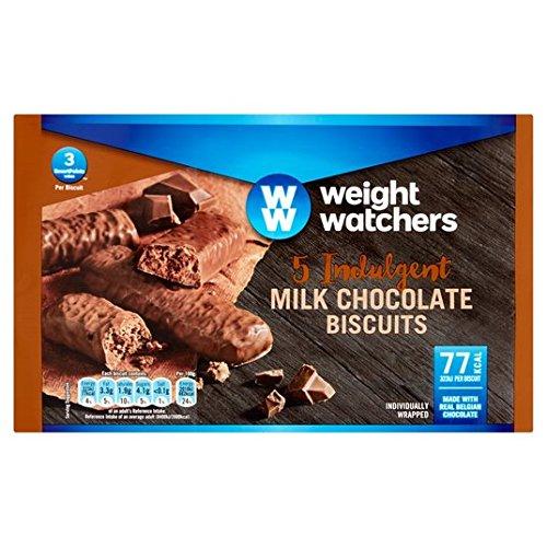 Preisvergleich Produktbild Weight Watchers Schokolade Biscuits 5 x 18g