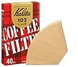 Marron entrée 40 pièces de 102 Kalita filtres à café en Papier-filtre Japon (Allemagne)