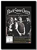 Black Stone Cherry - Between the Devil & the Deep Blue Sea Magazine Promo on a Black Mount