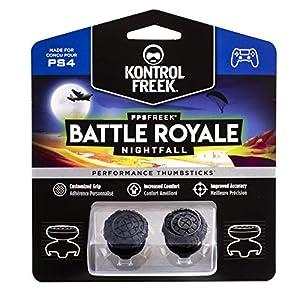 KontrolFreek FPS Freek Battle Royale Nightfall für PlayStation 4 (PS4) Controller | Performance Thumbsticks | 2 hochgewölbte Konvexen | Schwarz
