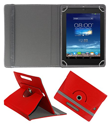 Acm Rotating 360° Leather Flip Case For Digiflip Pro Xt801 Tablet Cover Stand Red  available at amazon for Rs.159