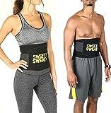 #3: RIANZ Sweat waist Trimmer Belt Premium waist Fat Burner Slimming Belt For Men & Women