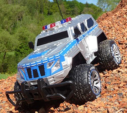 RC Jeep SWAT POLICE mit LICHT & AKKU 1:12 Länge 39cm Ferngesteuert 27MHz*