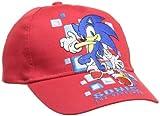 Sonic - Gorra para niño, talla 6 años (54), color rojo