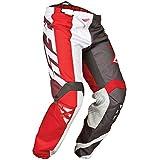 Fly 2015 Motocross / MTB Pantalón - División cinética rojo-gris-blanco - 30 (UE 46)