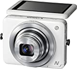 Canon PowerShot N Facebook ready Edition Digitalkamera (12,1 Megapixel, 8-fach opt. Zoom, 7,1 cm (2,8 Zoll) Touchscreen, bildstabilisiert) weiß