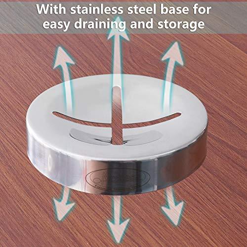 Zoom IMG-2 newness saponetta acciaio inox da