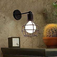 Estilo retro de pared de luz Lámpara de Pared Candelabro de Pared para dormitorios,bar,Hotel, Vintage Salón Dormitorio?Industrial,