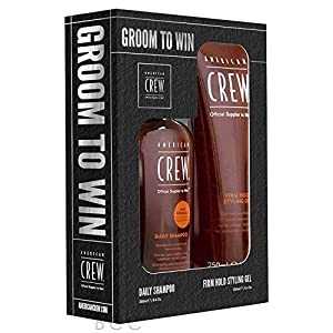 Gifts & Sets by American Crew Daily Shampoo 250ml & Firm Hold Gel 250ml
