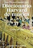 Diccionario Harvard de música (Alianza Diccionarios (Ad))