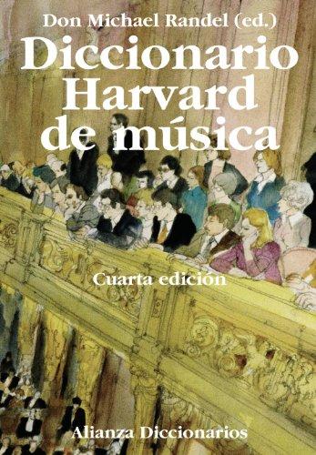 Diccionario Harvard de música / The Harvard Dictionary of Music par  MICHAEL RANDEL