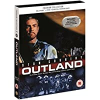 Outland Blu Ray + DVD + Art Cards The Premium Collection Region Free