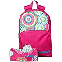 Desigual Children's Backpack  Rose-Gold Coloured 3022