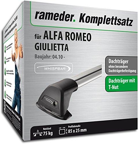 Rameder Komplettsatz, Dachträger Flush für Alfa Romeo GIULIETTA (119941-08603-1)