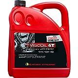 Motorradmotoröl 4-takt Racing Dynamic Viscoil 4T SAE 10W-40 teilsynthetisch 4000 ml