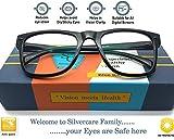 SILVERCARE UV Block Unisex Wayfarer Sunglasses (prdct005 Black)