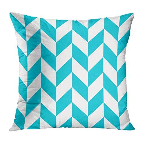 Fundas para almohada Trendy Geometric Marine Blue Interior Ornate Good for  Tiles Design Scrap Booking Cloth 8570e779444