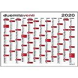 Calendario 2020 Feste.Calendari Da Muro Amazon It