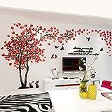 Alicemall Aufkleber 3D Wandaufkleber Wand Dekoration TV Sofa Hintergrund Deko Stereo Wandtatoo - Muster 1