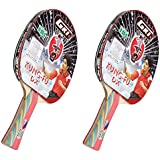 GKI Kung Fu DX Table Tennis Racquet (Pack Of 2)